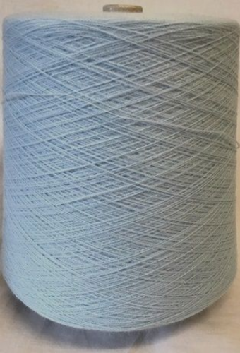 High Bulk Yarn 2/28s - Crystal Blue - 1300g